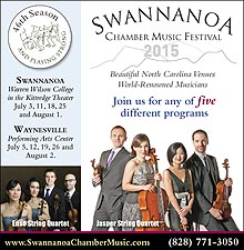 Swannanoa Chamber Music Festival