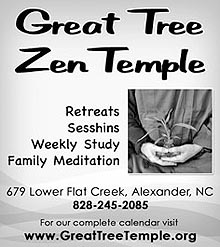 great tree zen temple