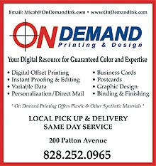 on demand printing
